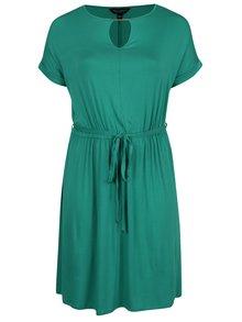 Rochie verde Dorothy Perkins Curve cu șnur în talie