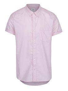 Růžová košile s krátkým rukávem Burton Menswear London