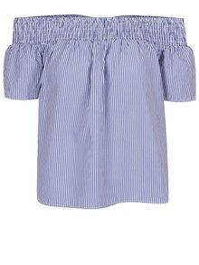 Bluză cu dungi și fundă la spate Dorothy Perkins Petite