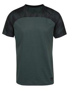 Tricou sport verde Nike pentru bărbați