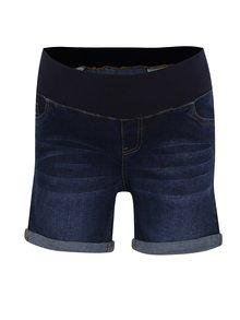 Pantaloni scurți albaștri din denim Dorothy Perkins Maternity