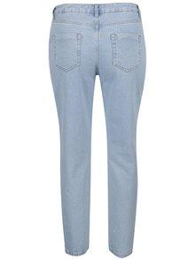 Světle modré mom džíny s kamínky a vysokým pasem Dorothy Perkins