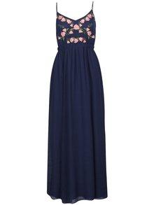 Rochie bleumarin Apricot lungă