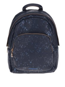Tmavě modrý batoh Desigual Perú Metal Splatter