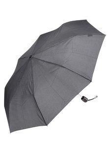 Černo-šedý vzorovaný deštník Doppler