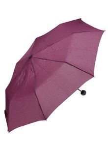 Vínový dámsky skladací dáždnik s.Oliver