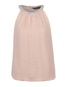 Bluză roz pudrat Dorothy Perkins cu aplicații