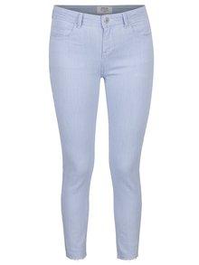 Pantaloni cu dungi și terminație nefinisată Miss Selfridge