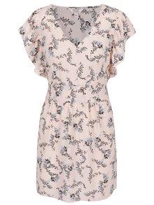Ružové kvetované šaty Miss Selfridge Petites