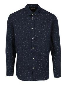 Modrá vzorovaná košeľa Selected One Josh