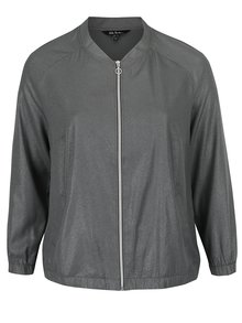 Jachetă bomber gri Ulla Popken