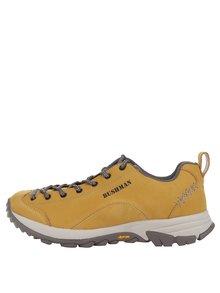 Pantofi sport galben muștar din piele BUSHMAN Cyrah