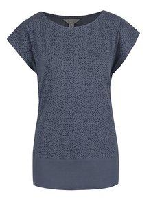 Modré dámske tričko s potlačou BUSHMAN Ida