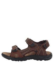Sandale maron de piele BUSHMAN Antares