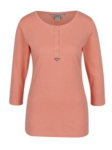 Oranžové dámské tričko s 3/4 rukávem BUSHMAN Keela