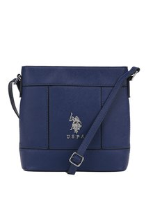 Modrá crossbody kabelka U.S. Polo Assn