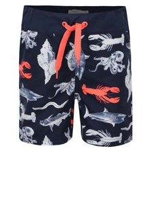 Costum de baie bleumarin name it Zox cu model pentru băieți