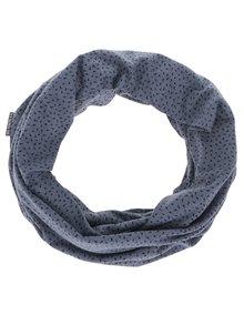 Modrý dámský kruhový šátek s potiskem BUSHMAN Galie