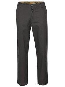 Tmavě šedé pánské kalhoty BUSHMAN Standard