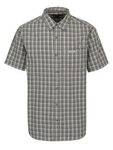 Zelená pánska károvaná košeľa BUSHMAN Conroe
