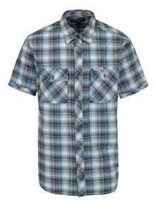Modrá pánska károvaná košeľa BUSHMAN Pawnee