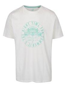 Krémové tričko s potlačou JP 1880