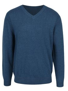 Modrý pánsky sveter BUSHMAN Freer