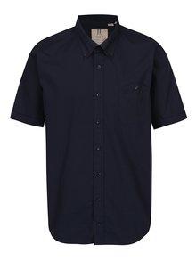 Tmavomodrá košeľa s krátkym rukávom JP 1880