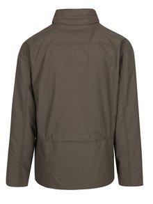 Khaki pánská bunda s výšivkou BUSHMAN Duncan