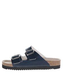 Tmavě modré pánské pantofle Snaha Lima 160