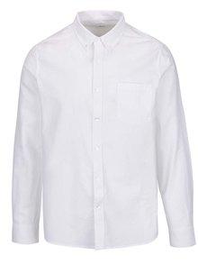 Biela košeľa s dlhým rukávom Burton Menswear London