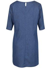 Tmavomodré bodkované rifľové šaty ZOOT