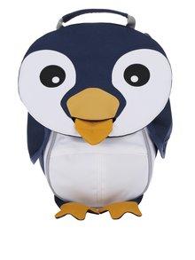 Rucsac multicolor în formă de pinguin Affenzahn 4 l