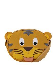 Oranžová dětská crossbody taška ve tvaru tygra Affenzahn 2 l