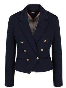 Jachetă bleumarin VERO MODA Selma cu revere