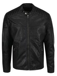 Jachetă Jack & Jones Original din piele naturala
