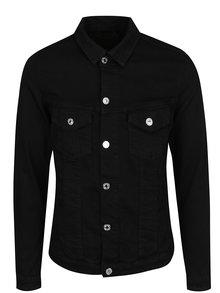Jachetă neagra din denim Jack & Jones Alvin