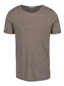 Tricou basic gri melanj Jack & Jones Randy