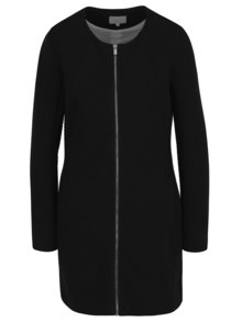 Palton negru VILA Heather model discret