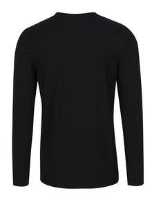 Bluza basic neagra Selected Homme Basic
