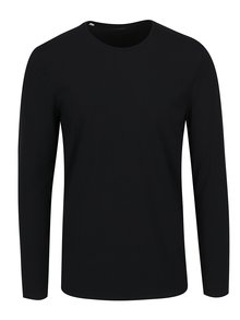 Černé basic triko s dlouhým rukávem Selected Homme Basic