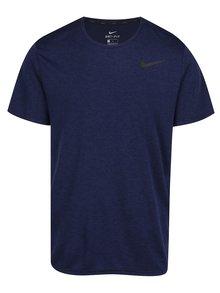 Modré pánské funkční triko s krátkým rukávem Nike