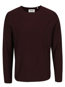 Bluză roșu burgundy melanj ONLY & SONS Paldin