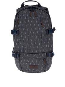 Tmavě šedý vzorovaný batoh Eastpak Floid 16 l