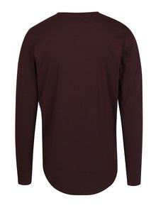 Fialové basic triko s dlouhým rukávem ONLY & SONS Matt