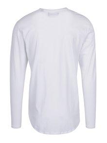Biele basic tričko s dlhým rukávom ONLY & SONS Matt