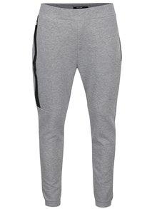 Pantaloni sport gri melanj ONLY & SONS Vinn