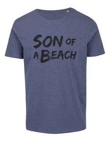 Tricou albastru melanj ZOOT Original Son of a beach