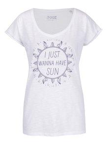 Biele dámske tričko ZOOT Originál I just wanna have sun