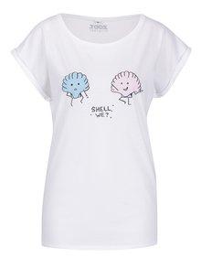 Biele dámske tričko ZOOT Originál Shell We